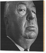Alfred Hitchcock Wood Print by Studio Photo
