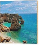 Algarve Beach - Portugal Wood Print