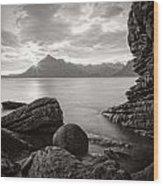 Algoll Skye Scotland Wood Print