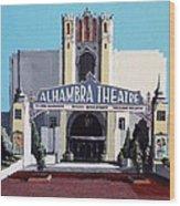 Alhambra Theatre Wood Print