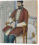 Ali Quli Mirza Wood Print