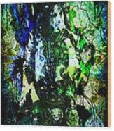 Alice Cooper - Feed My Frankenstein - Original Painting Print Wood Print