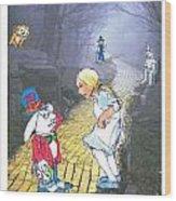Alice Lost Wood Print
