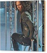 Alicia Keys Wood Print