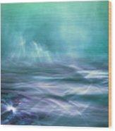 Alien Arctic Waters Wood Print