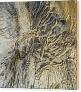 Alien Rock Formaton Wood Print