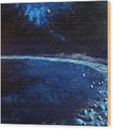 Alien Storm Wood Print