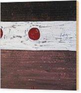 Alignment Original Painting Wood Print