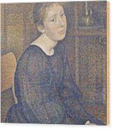 Aline Marechal Wood Print