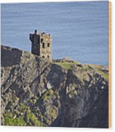 All Along The Watchtower - Bunglass Donegal Ireland Wood Print