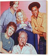All In The Family  Wood Print