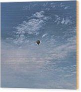 Hot Air Balloons Findlay Ohio Wood Print