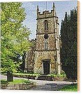 All Saints Church Weston Bath Wood Print