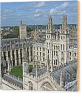 All Souls College Wood Print