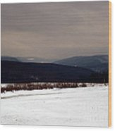 Allegany Highlands Wood Print