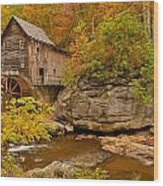 Allegheny Autumn Wood Print