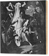 Allegory Of Africa Wood Print