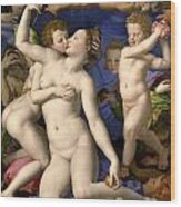 Allegory Of The Triumph Of Venus Wood Print