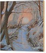Allen Kingwell Liquin Study Wood Print