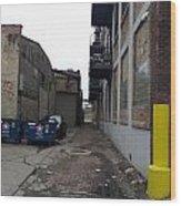 Alley 11 Wood Print