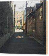 Alley 40 Wood Print