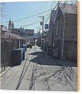 Alley 43 Wood Print