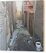 Alley 44 Wood Print