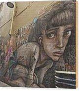 Alley Graffiti #2 Wood Print by Stuart Litoff