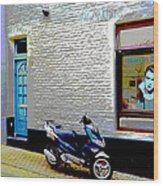 Alley In Venlo Wood Print