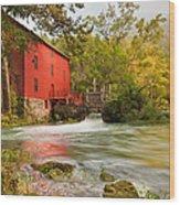 Alley Spring Mill - Eminence Missouri Wood Print