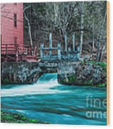 Alley Springs Mill Wood Print