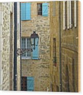 Alleys Of Sarlat II Wood Print