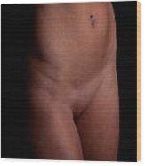 Alli Bodyscape 01 Wood Print