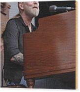 Allman Brothers Band - Gregg Allman Wood Print