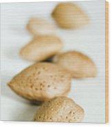 Almonds Wood Print