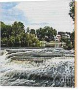 Almonte Falls Wood Print