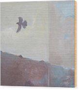 Aloft Wood Print