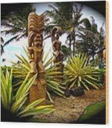 Aloha From Hawaii Wood Print