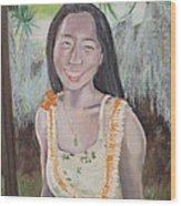 Aloha Jade Wood Print
