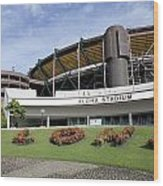 Aloha Stadium Wood Print
