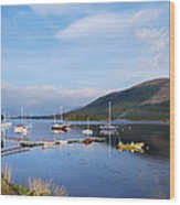 Along Loch Leven 2 Wood Print