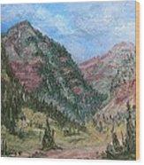 Along South Mineral Creek En Plein Air Wood Print