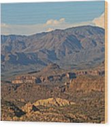 Along The Apache Trail Wood Print