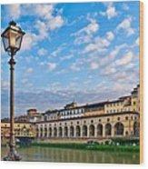 Along The Arno #2 Wood Print