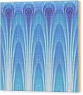 Along The Blue Nile Wood Print