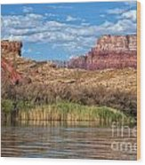 Along The Colorado River Wood Print