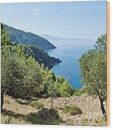 Alonissos Island Wood Print