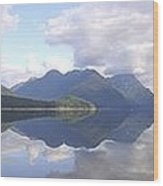 Alouette Lake Reflections - Golden Ears Prov. Park, Maple Ridge, British Columbia Wood Print