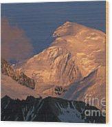Alpen Glow Wood Print