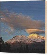 Alpenglow Lenticular Wood Print
